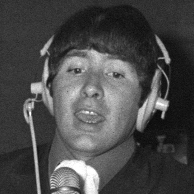 Reg Presley of The Troggs in 1967.