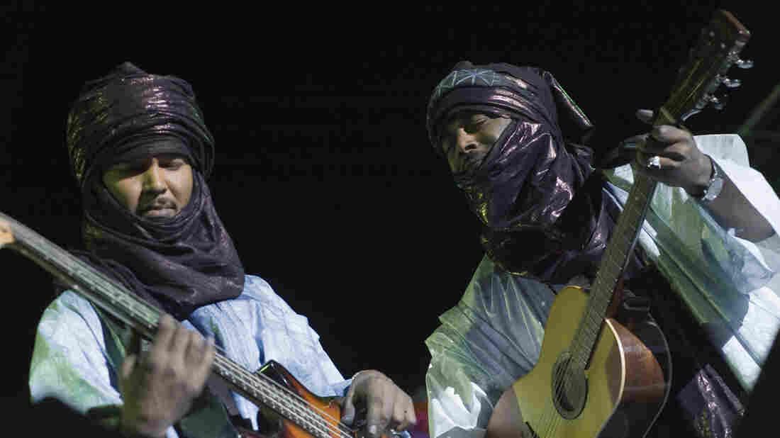 Tinariwen at Mali's Festival in the Desert.
