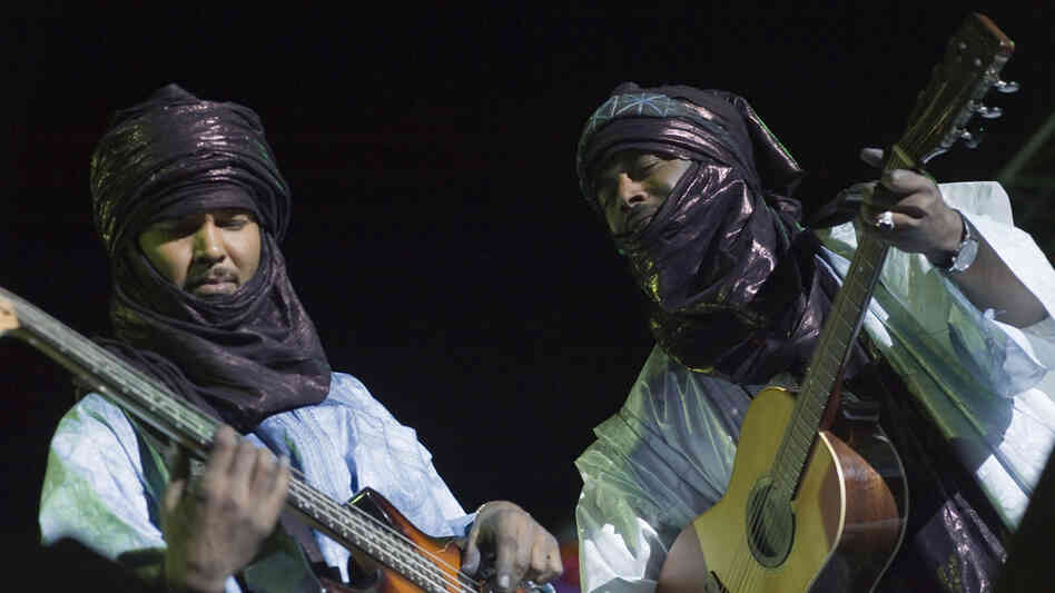 Tinariwen at Mali's Festival in the Desert.