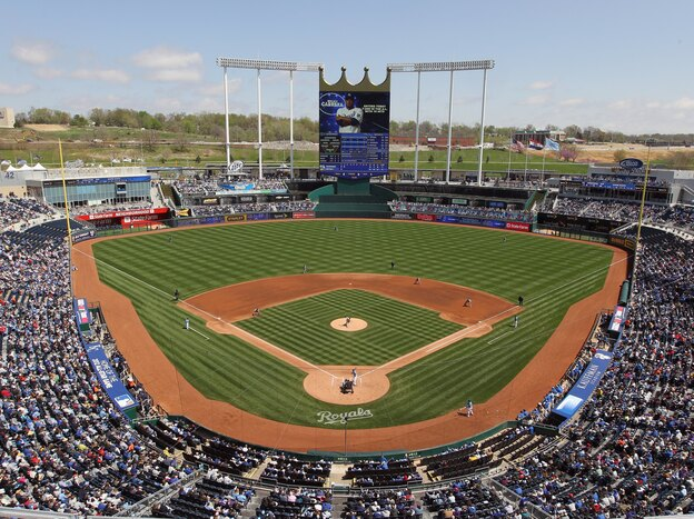 The Kansas City Royals professional baseball team is among more than 500 groups and individuals listed by the NRA as