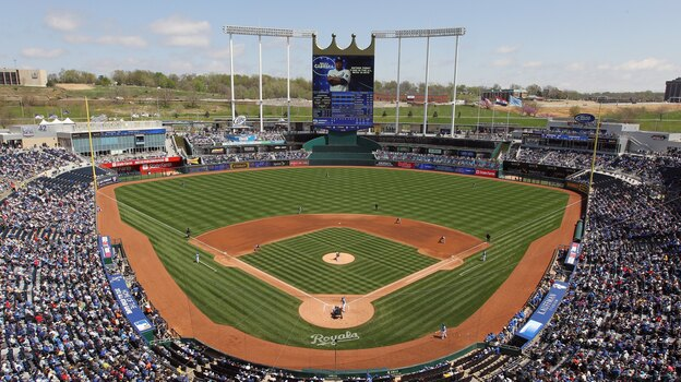 "The Kansas City Royals professional baseball team is among more than 500 groups and individuals listed by the NRA as ""anti-gun."" (Getty Images)"