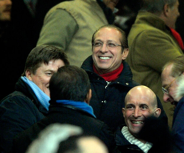 Paolo Berlusconi looks on during the Serie A match between AC