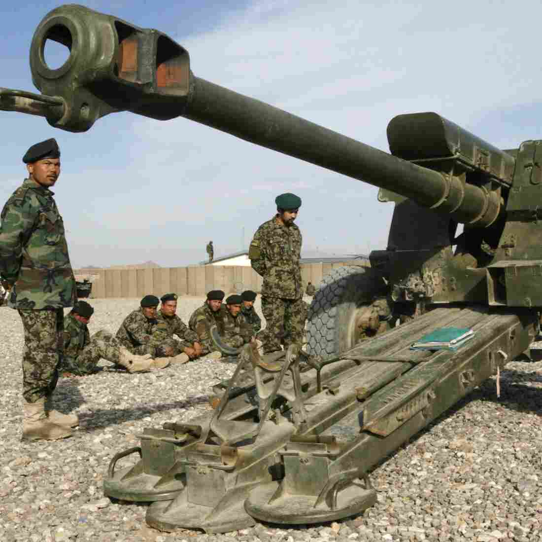 U.S., Afghanistan At Odds Over Weapons Wish List