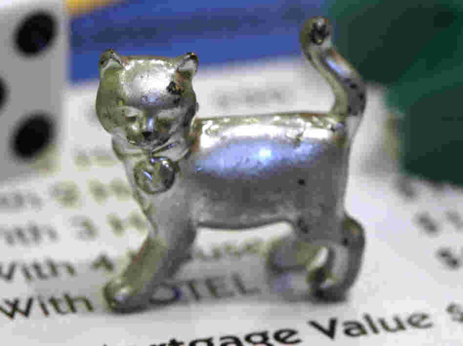 The newest Monopoly token, a cat.