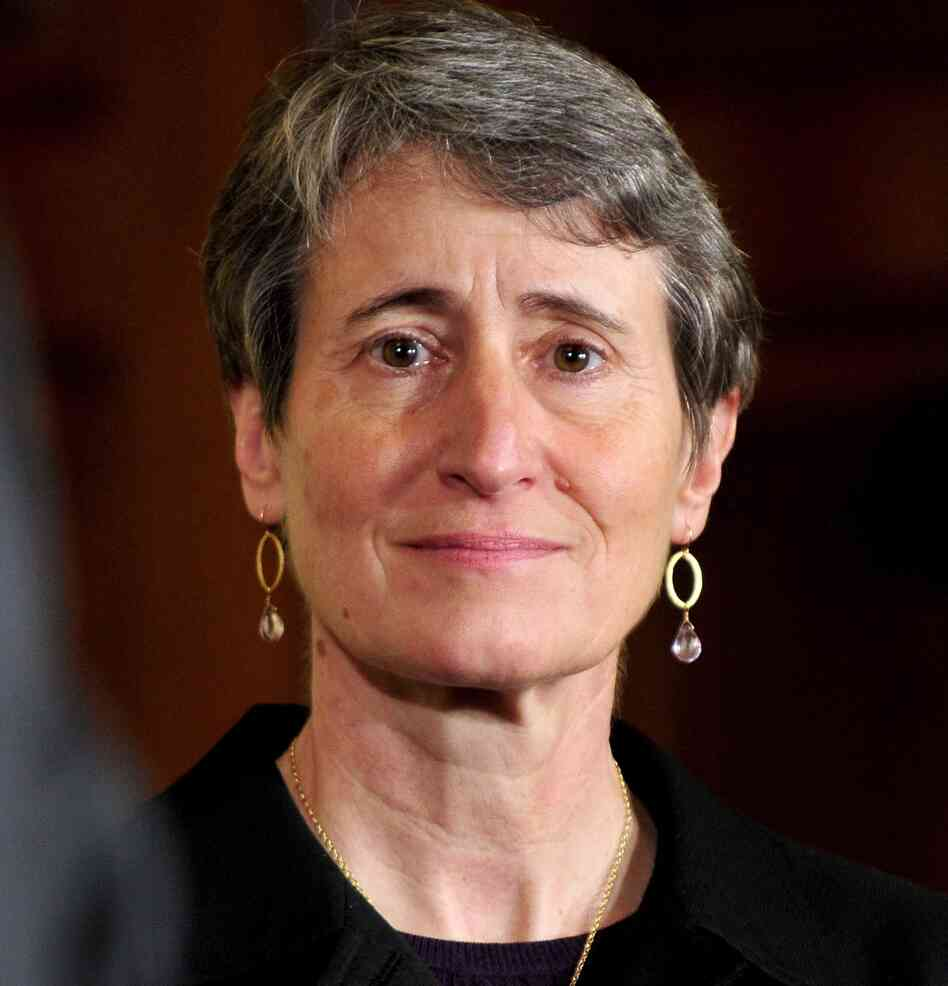 Sally Jewell, president and CEO of REI, who is in line to be the next secretary of interi