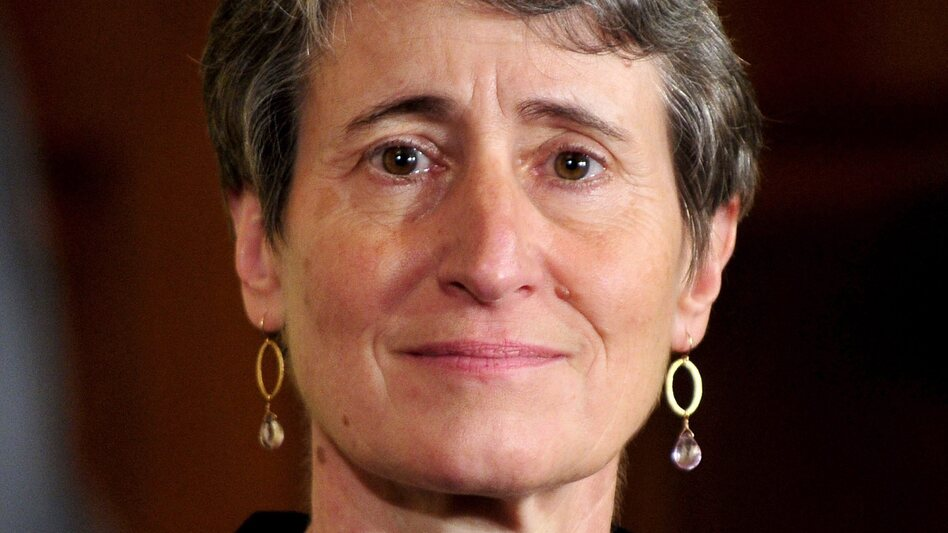 Sally Jewell, president and CEO of REI, who is in line to be the next secretary of interior. (EPA /Landov)