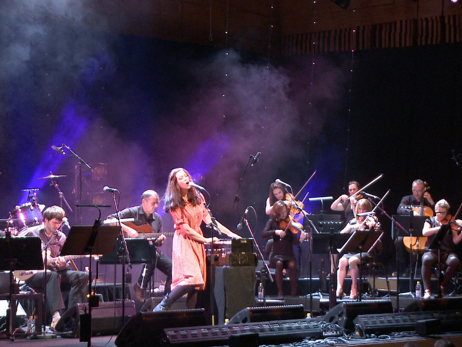 Lisa Hannigan performs in one of several live concerts for a new tribute album, <em>Way to Blue: The Songs of Nick Drake</em>.