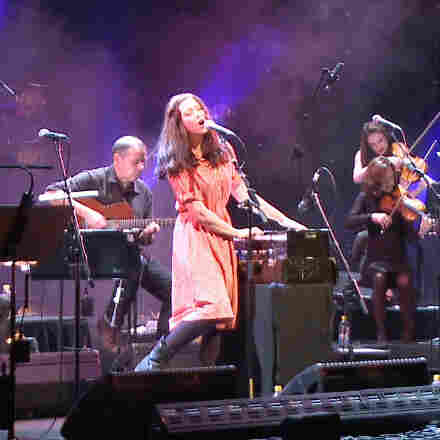 Lisa Hannigan performs in one of several live concerts for a new tribute album, Way to Blue: The Songs of Nick Drake.