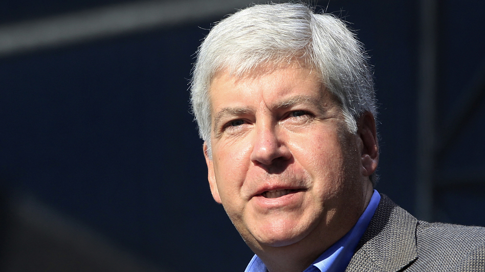 Michigan Gov. Rick Snyder, a Republican, favors a federally subsidized expansion of Medicaid in his state. (AP)