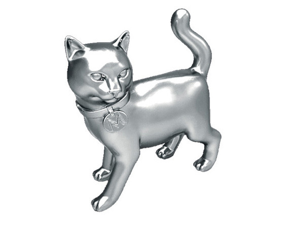 The newest Monopoly token: Cat.