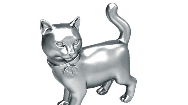 The newest Monopoly token: Cat. (Courtesy of Hasbro)
