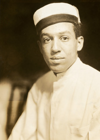 Langston Hughes publicity photo.