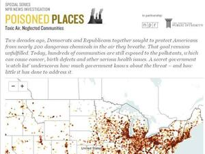 """Poisoned Places,"" an NPR/Center for Public Integrity investigation."