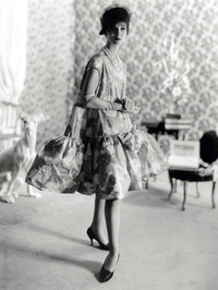 Balenciaga debuted his baby doll dress in 1958. Blume writes,