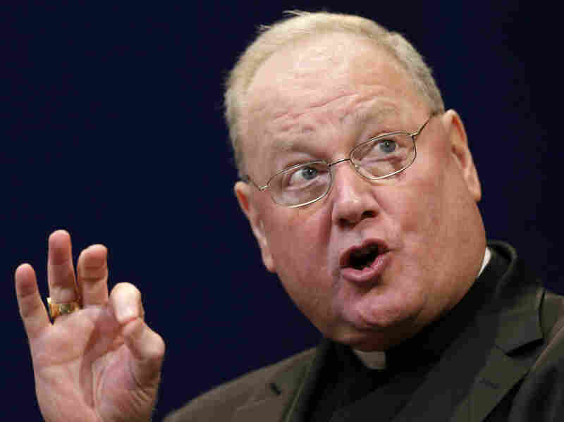 Cardinal Timothy Dolan of New York, president of the United States Conference of Catholic Bishops, said the administration's attempted compromise on contraceptive coverage is unacceptable.