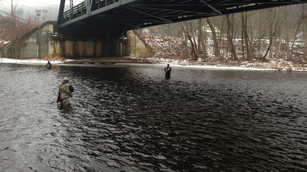 The expanding University of Connecticut is looking at the Farmington River as a water source, but some say recent weather fluctuation paints an uncertain picture for the river. (WNPR)