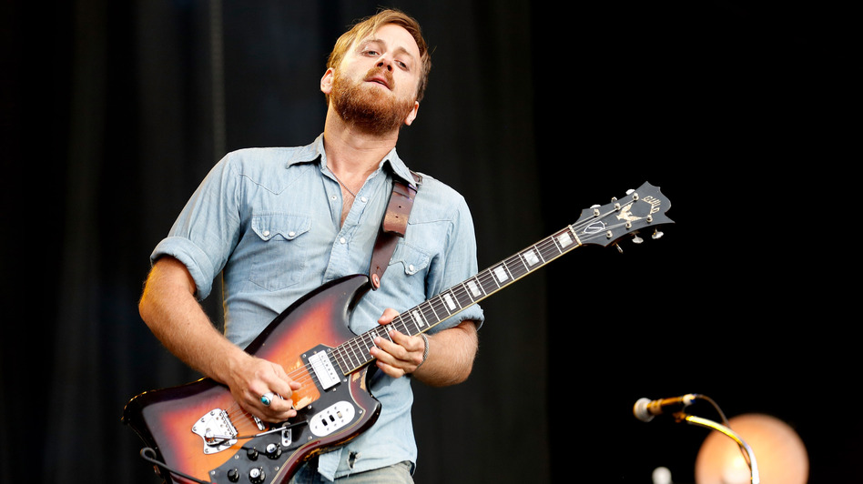Dan Auerbach of The Black Keys performs in England last August. Along with five nominations for his band, Auerbach is nominated for Producer of the Year, Non-Classical division. (Getty Images)