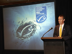 "Rupert Howes is CEO of the Marine Stewardship Council. ""We want to see the global oceans transformed onto a sustainable basis,"" he tells NPR."