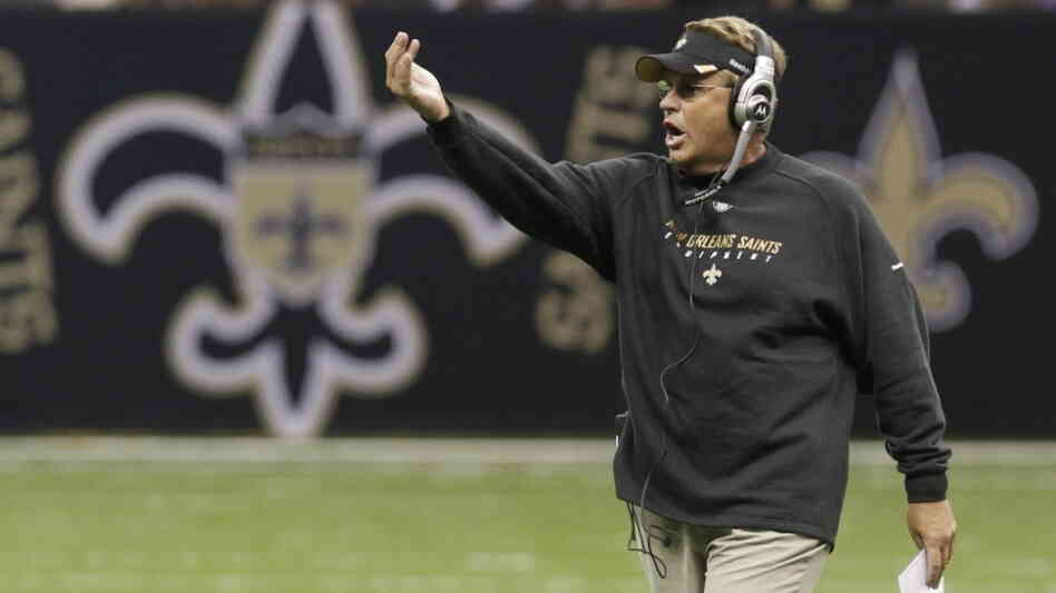 Gregg Williams, then a coach with the New Orleans Saints, in August 201