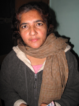 Savita Berwal, who heads a women's group in the Indian state of Haryana, says gang rape is common and is becoming more violent in the area.
