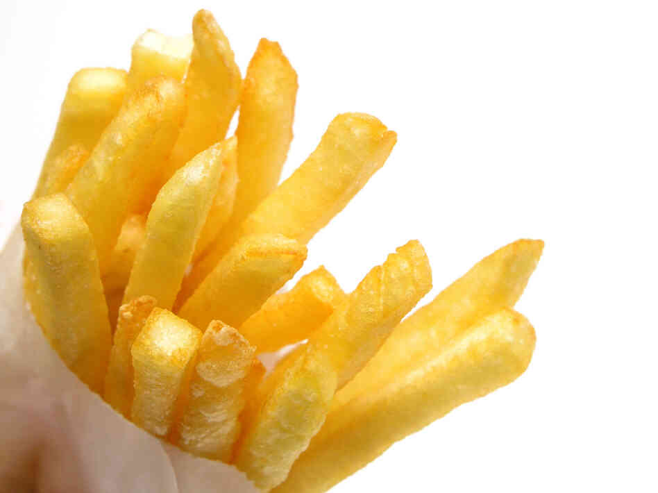 Ordering the small fries? You're part of a trend.