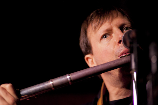 Known mostly as a tenor saxophonist, Chris Potter broke out his alto flute, as well as his bass clarinet and soprano saxophone for the gig.