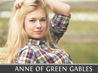 The cover photo of an edition of Anne of Green Gables.