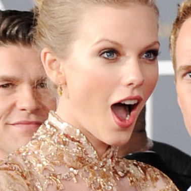 Maybe it was the presence of Neil Patrick Harris, but at last year's Grammys, Taylor Swift looked surprised just to be there.
