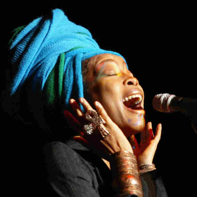 Singer Erykah Badu Plays Not My Job