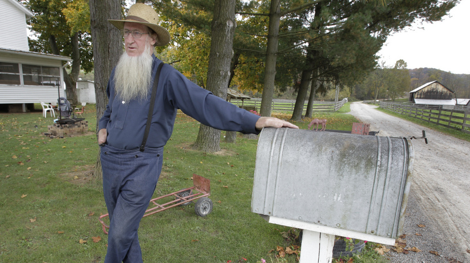 Sam Mullet outside his home in Bergholz, Ohio, earlier this year. (AP)