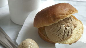 Serve this handmade coffee ice cream with a chocolate sauce, or squidge it into little brioches, like sweet burger buns, as they do in the south of Italy.