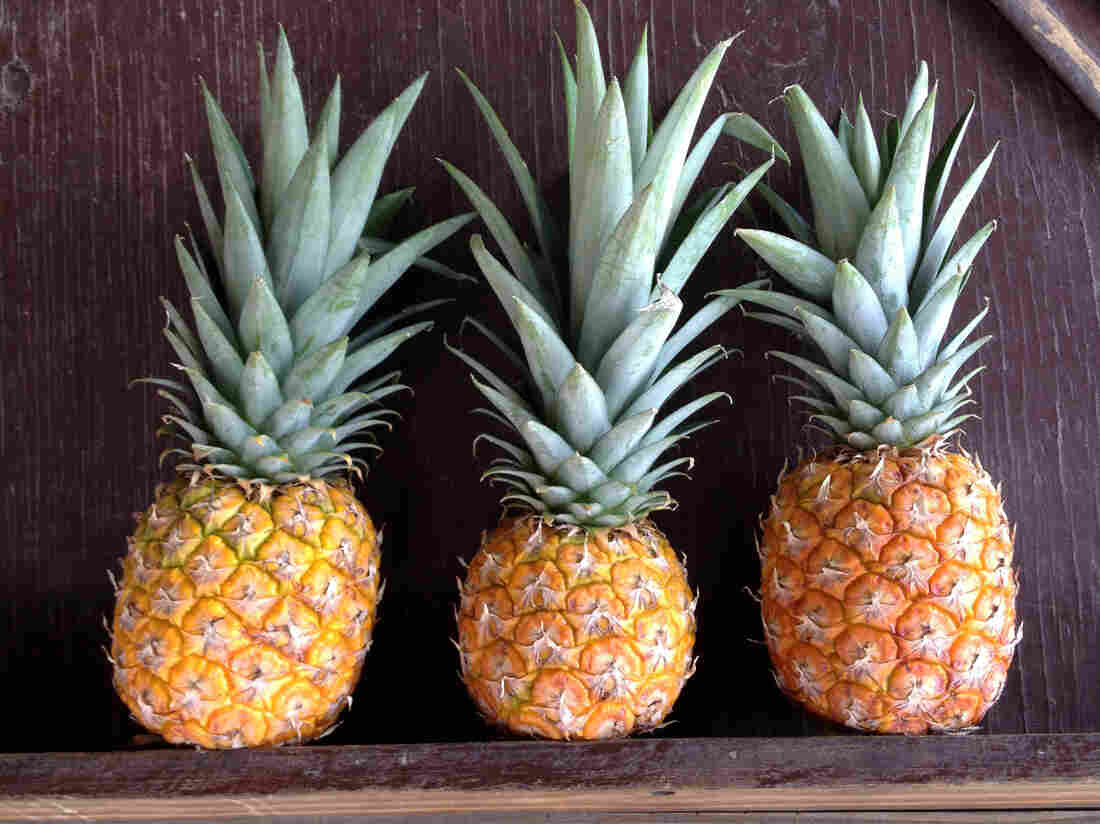You'd think tropical fruit would be everywhere on a Caribbean island. But we had to search fairly hard to find these beauties.