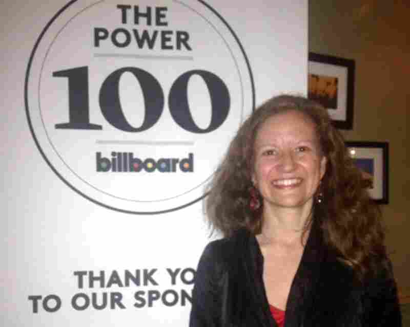NPR Music Director and EP Anya Grundmann at a celebratory dinner Billboard held in LA for its Power 100 honorees.