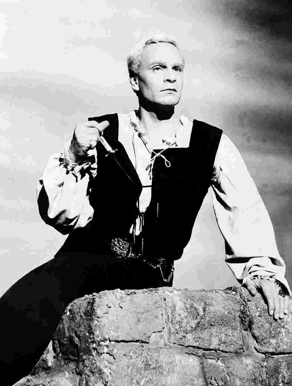 Laurence Olivier, seen here in his film adaptation of Shakespeare's Hamlet, also intended to create a film version of Macbeth.