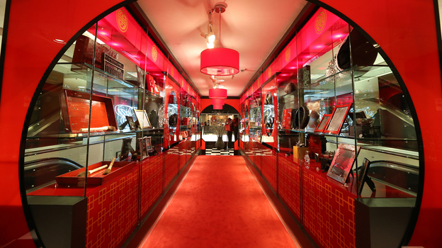 To mark the Lunar New Year, Bloomingdale's is catering to affluent Chinese tourists with an array of pop-up shops. (Courtesy of Bloomingdale's )