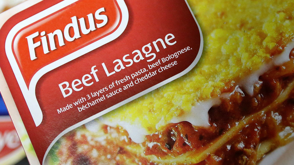 Frozen-food company Findus recalled its beef lasagne meals earlier this week because they contain horsemeat. (AP)