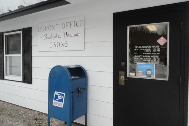 Brookfield, Vt., residents fear that Postal Service changes will eventually lead to the closing of their small town post office. About 1,300 people live in Brookfield, according to 2010 U.S. Census figures.