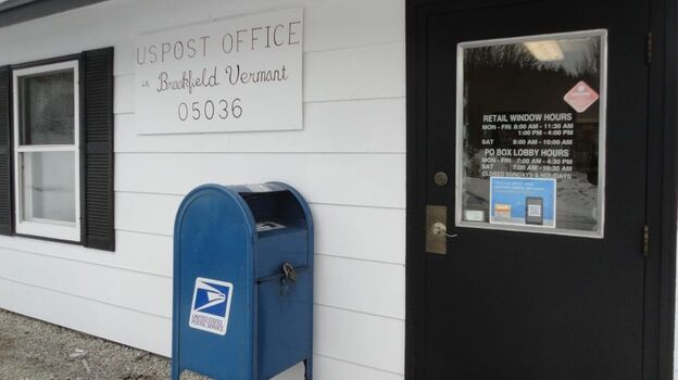 Brookfield, Vt., residents fear that Postal Service changes will eventually lead to the closing of their small town post office. About 1,300 people live in Brookfield, according to 2010 U.S. Census figures. (Vermont Public Radio)