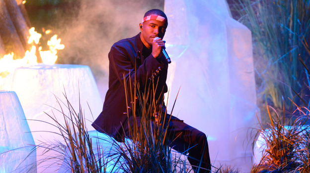 Frank Ocean performs at the MTV Video Music Awards in September 2012. (WireImage)