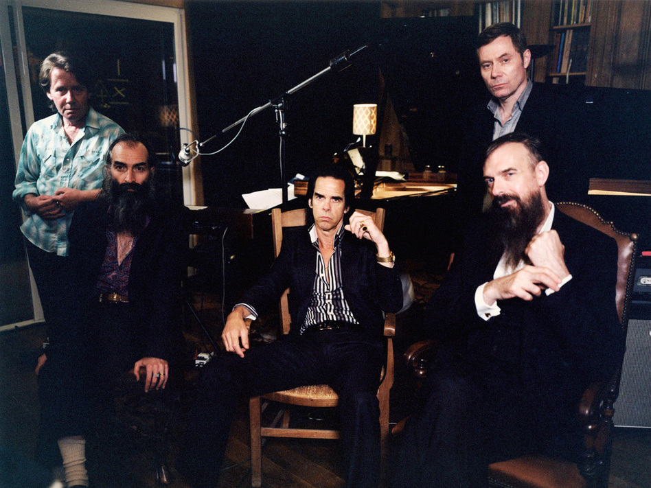 Nick Cave & The Bad Seeds' new album, Push the Sky Away, comes out Feb. 19.