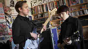 The xx performs a Tiny Desk Concert on Jan. 29, 2013.