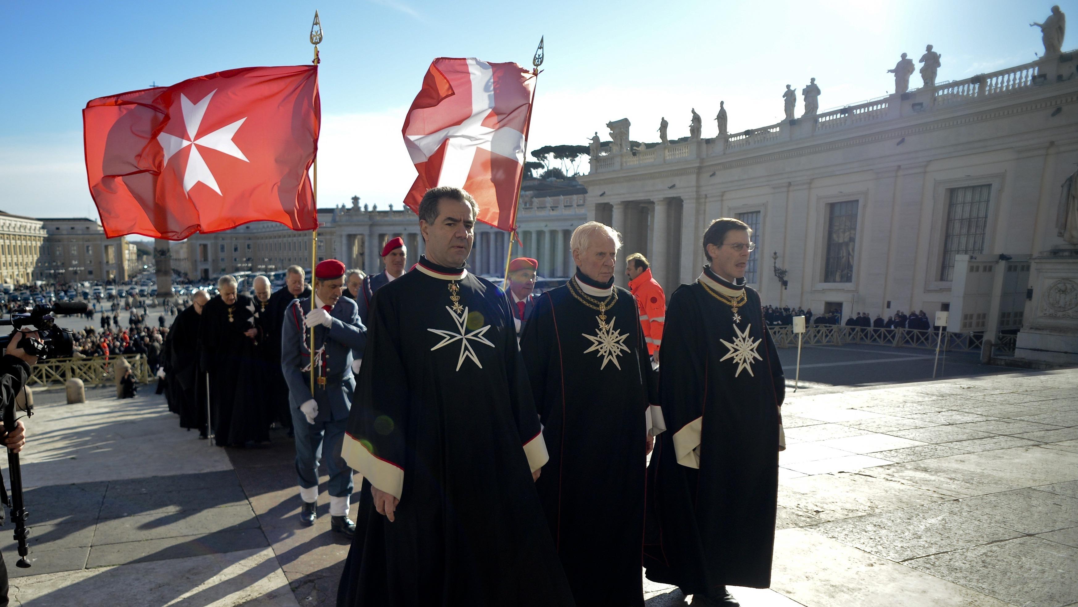 knights of malta celebrates 900th anniversary at vatican wbur news. Black Bedroom Furniture Sets. Home Design Ideas