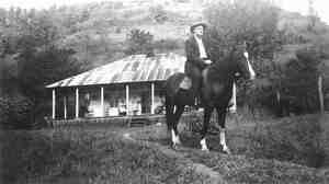 Fiddler Bill Stepp in Kentucky's Magoffin County in the 1930s.