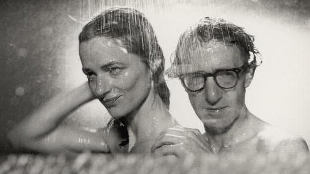 Charlotte Rampling and Woody Allen in his film Stardust Memories. (Getty Images)