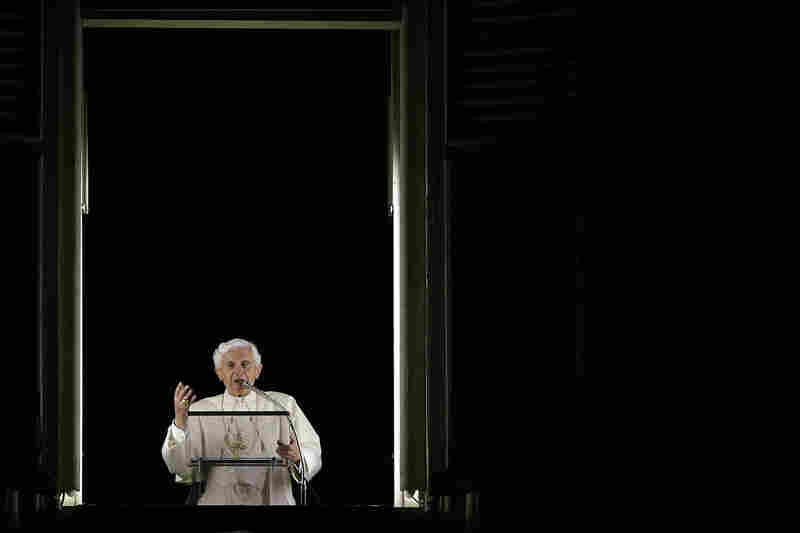 "Pope Benedict XVI speaks to mark the 50th anniversary of the Second Vatican Council at the Vatican on Oct. 11, 2012. The 85-year-old pontiff cited his ""advanced age"" and diminishing strength as reasons for his resignation."