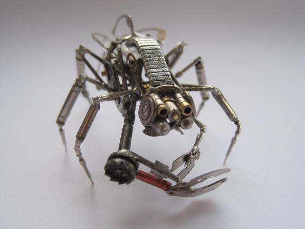 Mechanical bug like creature.
