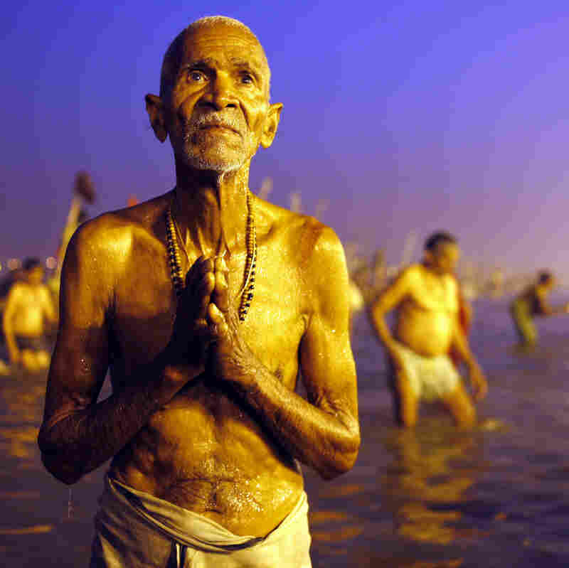 Seeking A Glimpse Of Immortality In The Waters Of India's Holy Rivers
