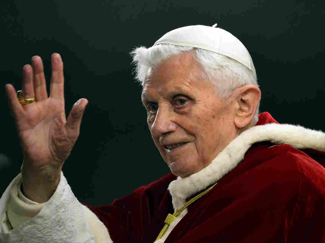 Pope Benedict XVI last December at the Vatican.