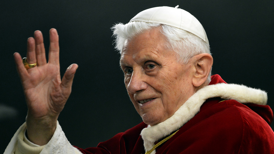 Pope Benedict XVI last December at the Vatican. (AFP/Getty Images)