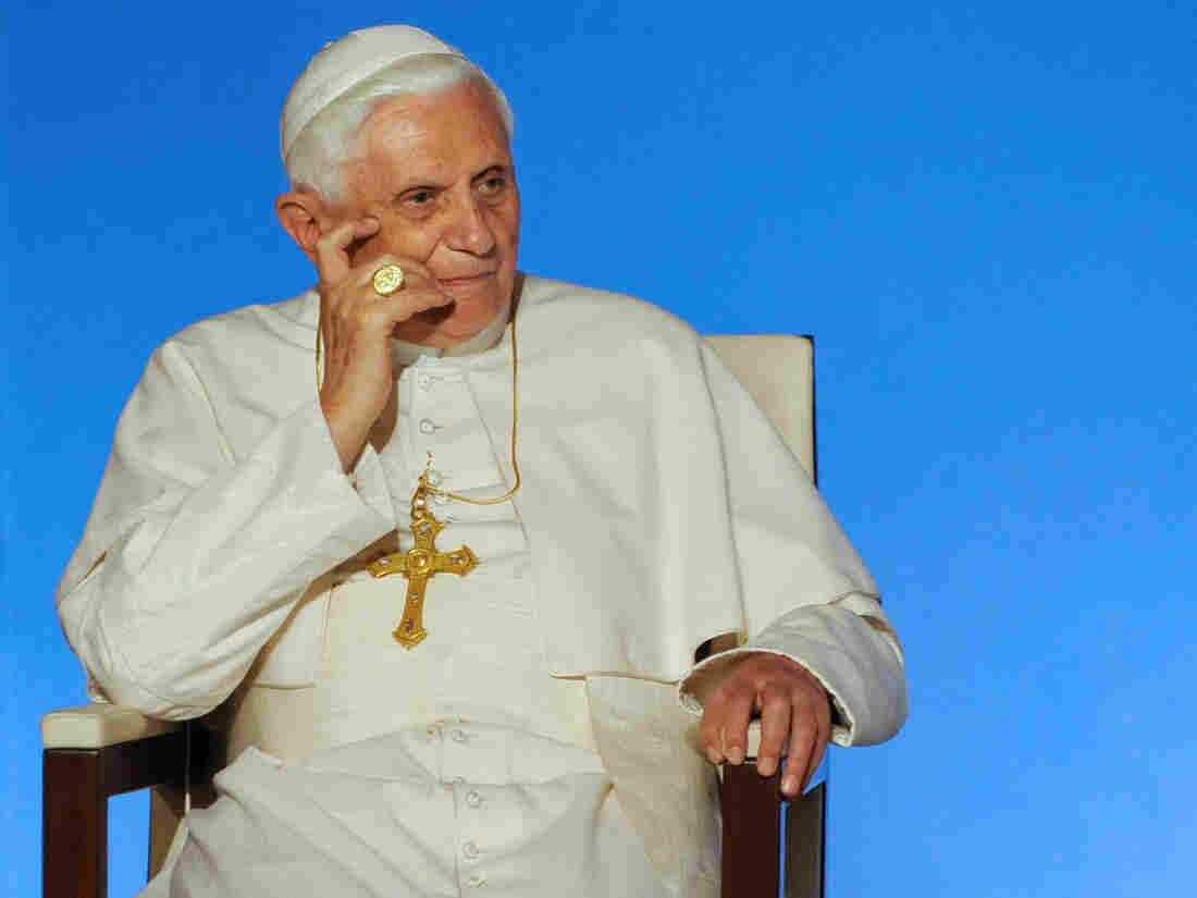 Pope Benedict XVI in 2008.